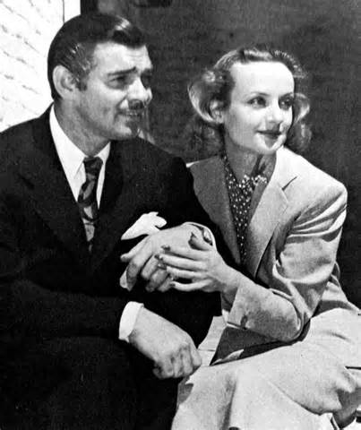 Clark Gable and Carole Lombard  Hollywood Lovers